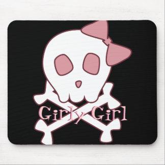 Girly Skull Mousepad