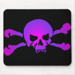 Girly Skull of the Undead Mouse Pad