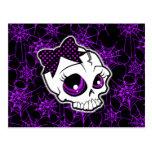 Girly Skull Postcards
