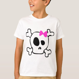 Girly skull T-Shirt