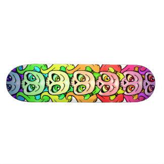 Girly Skull Totem Woody Skateboard Deck