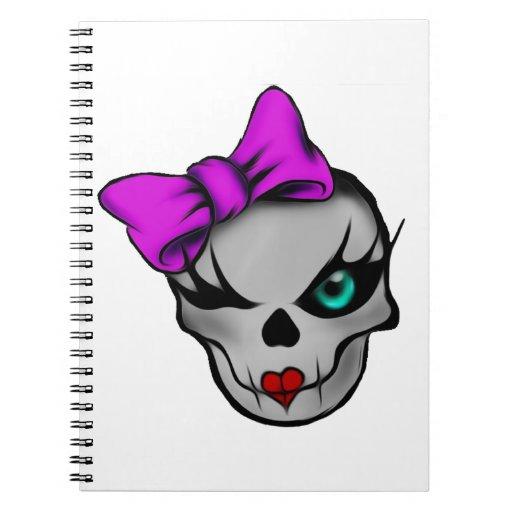 Girly Skully Journal