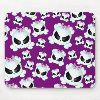 Girly Skullz Mouse Pad