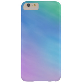 Girly Soft Rainbow Colored Sky Barely There iPhone 6 Plus Case