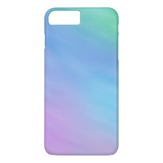 Girly Soft Rainbow Colored Sky iPhone 7 Plus Case