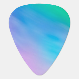 Girly Soft Rainbow Sky Guitar Pick