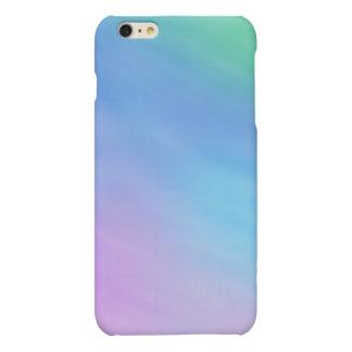 Girly Soft Rainbow Sky Matte iPhone 6 Plus Case