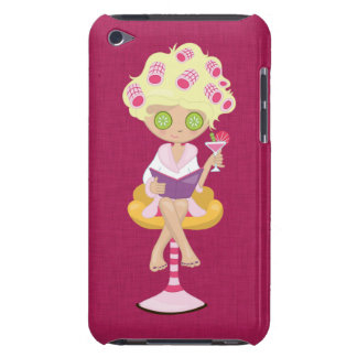 Girly Spa Girl iPod Touch Cases