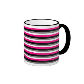 Girly Stripes Mug
