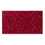 Girly Stylish Red Glitter Photo Print Business Card Templates