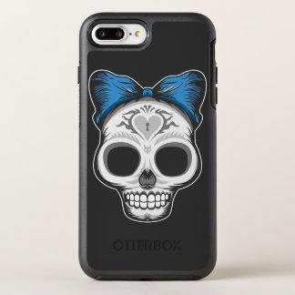 Girly Sugar Skull OtterBox Symmetry iPhone 7 Plus Case