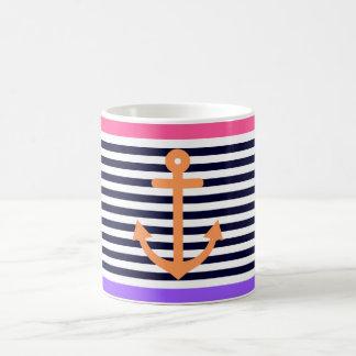 Girly Summer Nautical 2 Coffee Mug