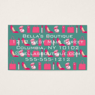 Girly things business card