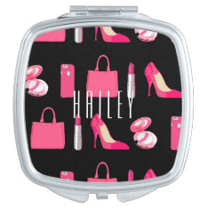 Girly Things Compact Mirror at Zazzle