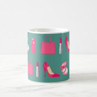 Girly things design coffee mug