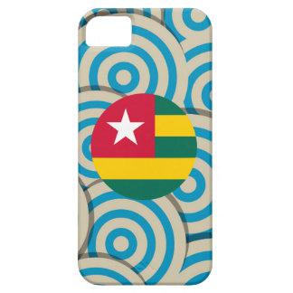 Girly Togolese Flag Gift iPhone 5 Case
