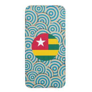 Girly Togolese Flag Gift iPhone 5 Pouch