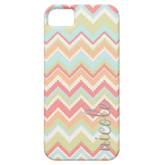 Girly Trendy Aztec Print Personalized iPhone SE/5/5s Case