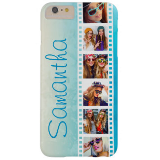 Girly Trendy Blue Grunge Summer iPhone 6 Plus Case