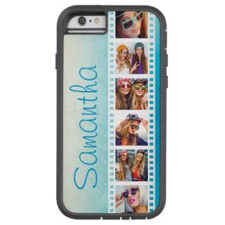 Girly Trendy Blue Grunge Xtreme iPhone 6 Case