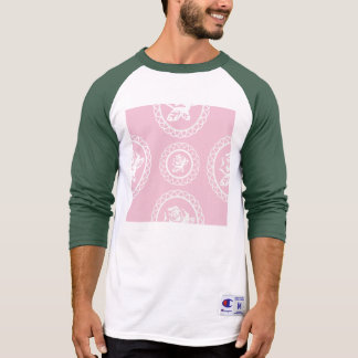 Girly,trendy,pink,roses,floral,pattern,modern,chic T Shirt