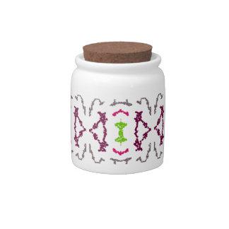 Girly Tribal Tattoos 1 Candy Jar