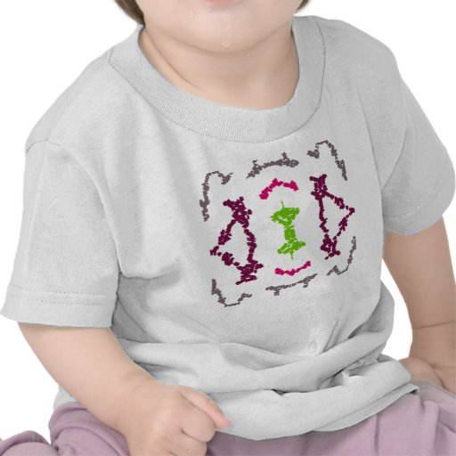 Girly tribal tattoos 1 girls shirt zazzle for Tribal tattoo shirt