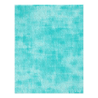 Girly Turquoise Watercolor Abstract Pattern Personalized Flyer