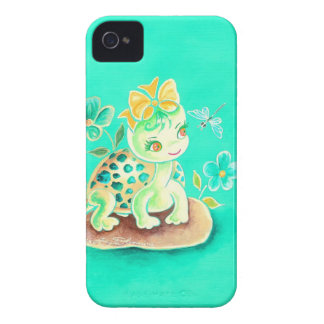 Girly Turtle Case-Mate iPhone 4 Case