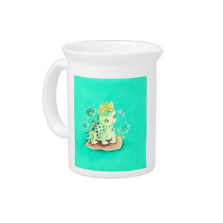 Girly Turtle Beverage Pitchers