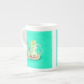 Girly Turtle Tea Cup