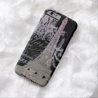girly vintage chandelier paris eiffel tower barely there iPhone 6 case