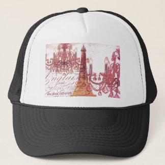 girly vintage French chandelier girly eiffel tower Trucker Hat