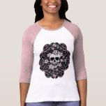 Girly Vintage Skull T-shirt