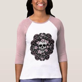 Girly Vintage Skull T Shirts