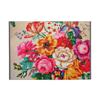 Girly Vintage Spring Flowers iPad Mini Cover