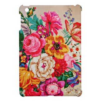 Girly Vintage Spring Flowers iPad Mini Cases