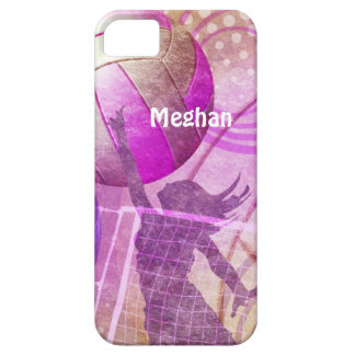 Girly Volleyball iPhone 5 Cases