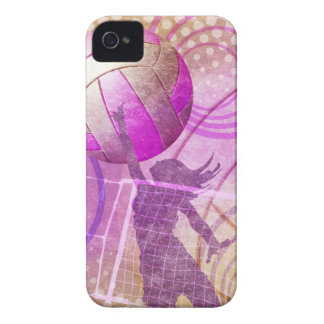 Girly Volleyball iPhone 4 Covers