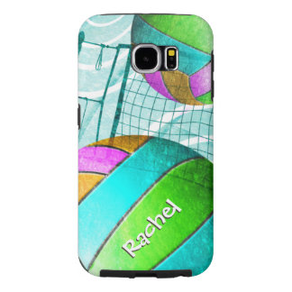 Girly Volleyball Samsung Galaxy S6 Case