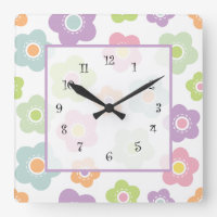 Girly Wall Decor Clocks