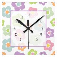 Girly Wall Decor Clocks