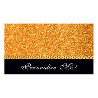 Girly Wedding Elegant Modern Sparkle Trendy Cute Business Card Template
