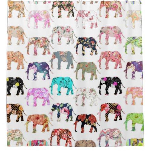 Elephant Shower Curtain Rings