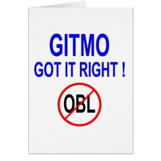 GIRMO GOT IT RIGHT ! CARD