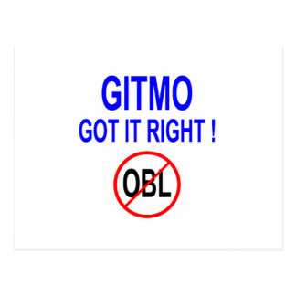 GIRMO GOT IT RIGHT ! POSTCARD