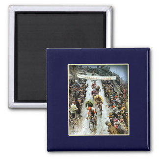 Giro 1912 Italy gifts for cyclists 2 Inch Square Magnet