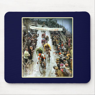 Giro 1912 Italy gifts for cyclists Mouse Pad