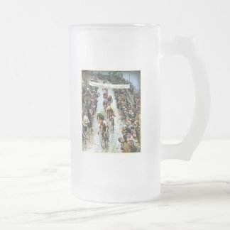 Giro 1912 Italy gifts for cyclists 16 Oz Frosted Glass Beer Mug