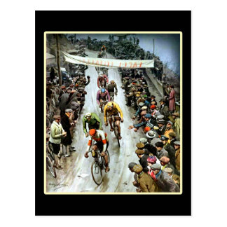 Giro 1912 Italy gifts for cyclists Postcard